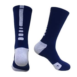 Meias de Basquete Profissional de Elite Atlético Esporte Meias Homens Moda Andando Correndo Tênis Esportes Meia meias secas ao ar livre-secagem rápida