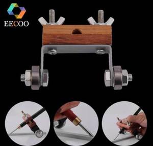 Guía de bruñido de EECOO Cincel de afilado de cantos Afilador de herramientas para madera Tallado de cuchillos Afilador
