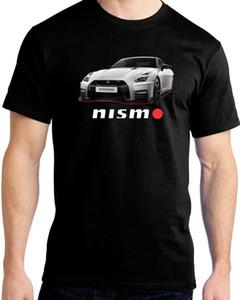 2018 Nova Chegada Dos Homens T Shirt Novo Japonês Clássico Legend Car GTR GT-R Nismo 100% Algodão T-Shirt T-Shirt