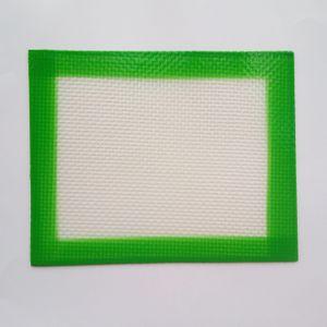 USA Canada Popular FDA platinum cured food grade small size 102x127mm non-stick slick oil concentrate silicone dab mat pad silicone mats pad