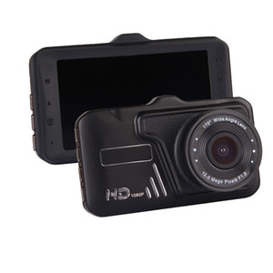 CT527 Car Vehicle DVR Camera Dash Video Recorder 1080P HD 3.0inch IPS Pantalla Bult-in altavoz con caja de venta