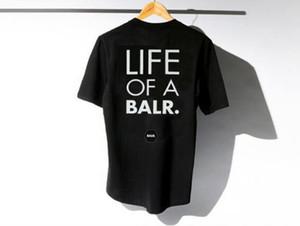 2019 levantar de um t-shirt balr t-shirt tops balr menwomen 100% algodão futebol futebol sportswear ginásio camisas BALR roupas