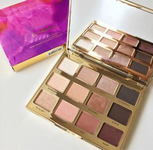 Venda quente 12 Cores Paleta Da Sombra de Olho T Em Bloom Palette Boa Pigmentação Matte Shimmer Frete grátis