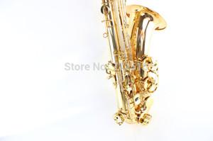 Ottone Oro lacca Suzuki Bb Tenor Saxophone professionale degli studenti Musicais Instruments Bb Sax caduta Tune B (C) spedizione gratuita