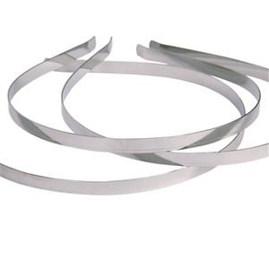DROP SHIPPING 3mm Blank Headbands 금속 스테인레스 스틸 헤어 밴드 Lots DIY 헤어 액세서리 HOT SALE 100pcs /
