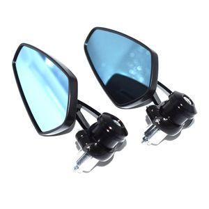 "For Motorcycle mirror 7 8"" 22mm moto handlebar end side rearview mirror For yamaha kawasaki honda ktm suzuki bmw harley ducati etc"