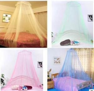 Elegante Rodada Lace Insect Bed Dossel Rede Cortina Cúpula Mosquiteiro Nova Casa Decoração de Cama