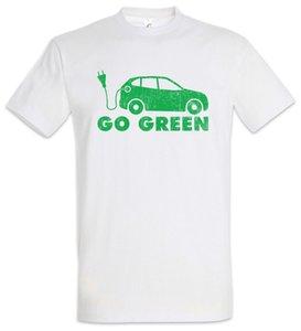 BEV Go Green T-Shirt EV Elektrofahrzeuge Energie Fun Car Cars Null Emissionen xxl