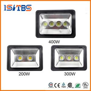 Super brillante 200W 300W 400W LED Floodlight Lámpara de luz de inundación LED impermeable Lámpara de luz LED de túnel LED lapms calle AC 85-265V