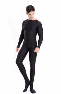 Adult Men bodysuit Solid High Elastic Jumpsuit Ballet Dance stage costumes Bodybuilding Body suit Men's shaper clothing W1206
