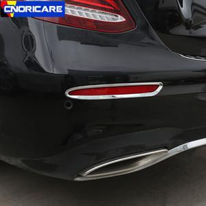 Auto-Nebelschlussleuchte Rahmenzierabdeckung Trim für Mercedes Benz E-Klasse W213 2016-18 Exterior Modified Abziehbilder