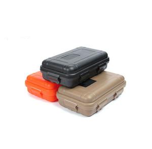 Top verkauf Outdoor Sport Getriebe Stoßfest Wasserdicht Box Sealed Box EDC Werkzeuge Wilden Überleben Aufbewahrungsbox Heißer Verkauf