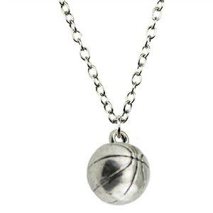 WYSIWYG 5 Stücke Metallkette Halsketten Anhänger Männliche Halskette Mode 3D Basketball 11mm N2-B10842