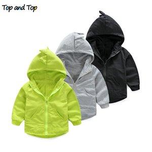 Üst ve Üst Karikatür Erkek Ceket Sonbahar Yeni Moda Marka Çocuk Kabanlar Palto Erkek Giysileri Çocuk Rüzgarlık Çocuklar Ceketler