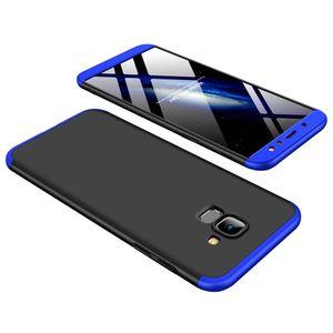 Slim 3in1 Hybrid Bumper Hard Back Case For Samsung Galaxy A6 2018 A6+ A8 A8+ S9 S9+