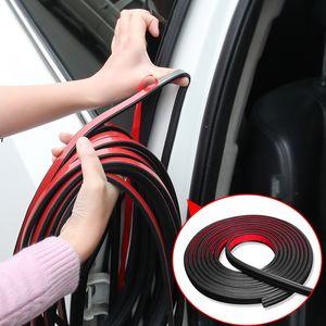1 mètre Intérieur Accessoires B Styling Car Door Seal Bandes Autocollant Tronc Insonorisation Étanche Étanchéité Autocollant Universal Automobiles