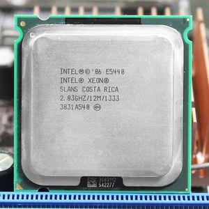 PC-Computer Intel Xeon E5440 SLBBJ EO Quad-Core-Prozessor in der Nähe von LGA775 CPU, funktioniert auf LGA 775 Mainboard keine Notwendigkeit Adapter