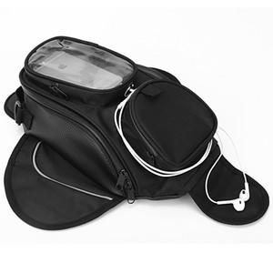 오토바이 탱크 가방 마그네틱 GPS 가방 큰보기 과부 모토 짐 가방 iphone6 / 6s / 7 오토바이 꼬리 가방