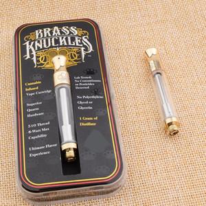 InStock 금관 악기 너클 Pyrex 유리 CE3 카트리지 기화기 BUD Touch 골드 드립 듀얼 코튼 / 세라믹 코일 아토 마이저 510 92A3 G2 G5 O pen