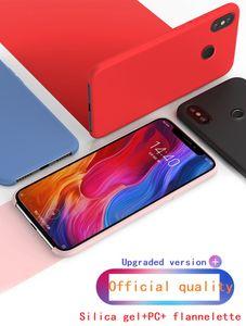 Sílica gel líquido telefone móvel shell para xiaomi mix 2s, mi8, mi8 se, mi 6x, mi 9, arroz vermelho 5plus, arroz vermelho S2, arroz vermelho note5, MAX3, MAX3 mais, Note7
