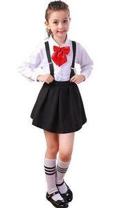 O ano de 2018 novo estilo crianças Cosplay Meninos e meninas piano coral coro hospeda trajes de desempenho