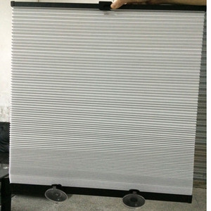Free shipping Spring retractable car sun shade curtain blind,UV resistance,blackout,Tinfoil inside  double insulation