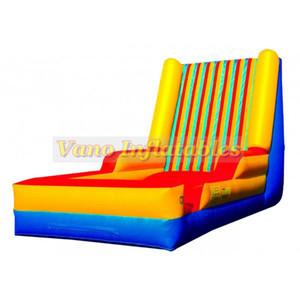 6x4x4m Crochet et boucle saut mur gonflable homme Post-it Mur Jumper Jeux Sport PVC commercial avec ventilateur Livraison gratuite