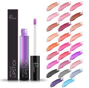 새로운 도착 패션 클래식 매트 립글로스 26 색상 Pudaier Lipgloss Glossy Lipstick 무료 배송