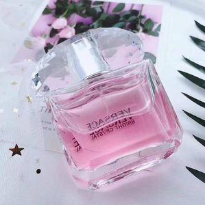New Women 90ML Perfume CRYSTAL Parfumes Lasting Fragrance Free shipping