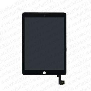 아이 패드 에어 2 무료 배송 5PCS 새로운 LCD 디스플레이 터치 스크린 디지타이저 교체 어셈블리