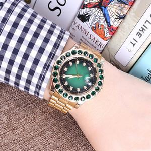 40mm Diamante automático corona reloj superior deportivo mujer reloj de oro calidad de cuarzo función de posicionamiento preciso reloj de cuarzo