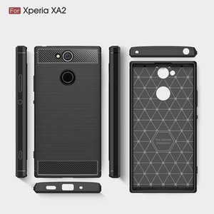 Handy-Fälle für Sony Xperia XA2 TPU Carbon-Hochleistungsfall für Abdeckung Sony-XA2 Ultra Freies DHL-Verschiffen