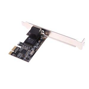 RTL8111E PCIe Gigabit Ethernet PCI-Express مهايئ بطاقة شبكة خادم RJ45 داخلي PCI-E X1 / X4 / X8 / X16 لسطح المكتب