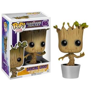 Funko Pop Dans Ağacı Groot Action Figure Modeli Oyuncak Marvel Bobblehead Guardians Galaxy PVC Oyuncak Çocuklar için Noel Hediyeleri Rakamlar