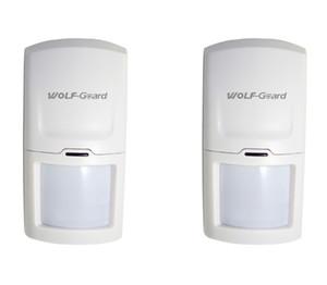 Wolf-guarda sem fio pir motion sensor detector anti-adulteração de alarme para o sistema de alarme de segurança em casa 3G / GSM painel de alarme 433 MHZ HW-03D 2 pçs / lote