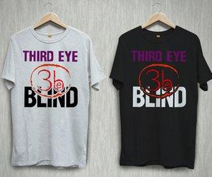 Drittes Auge Blind Alternative Rock Band Logo Schwarz Weiß T-shirt Hemden Tee S-2XL