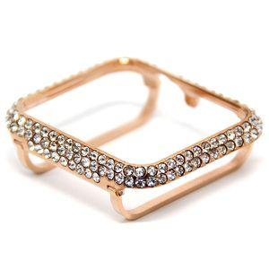 Per Apple Osservare serie 4 serie 5 cristallo di diamante caso lunetta zircone 44 millimetri 40 millimetri S3 S2 S1 38 millimetri 42 millimetri