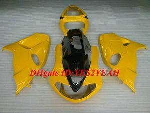 Kit de carénage de moulage par injection pour SUZUKI TL1000 98 99 00 01 03 TL1000R 1998 2003 Kit carénage ABS TOP jaune + Cadeaux SQ03