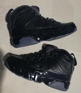 Bred 9s BG GS ESPACIO JAM 9 NEGRO INFERIOR concord AZUL CUENTA ARRIBA PACK BARONS Red Sports Playoff Wholesale Basketball Shoes