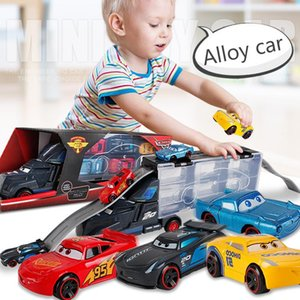 Large Container Trucks Portable Pick Up Truck Kids' Toys Alloy Trailer Mini Gift Children Birthday Gifts Truck Cars Model Toys