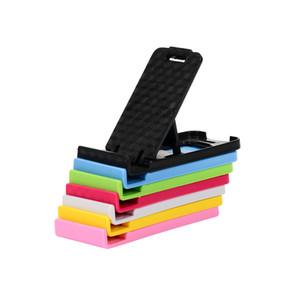 Multi-ângulo de ajustar o telefone portátil preguiçoso titular montar universal dobrável telefone móvel tablet suporte de mesa para o telefone para samsung