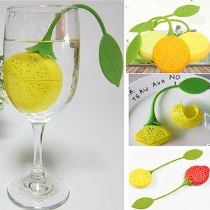 Silikon Çay Süzgeçler Teabag Çay Yaprağı Süzgeç Limon Çilek Filtre Demlik Demlik Kahve Filtresi Için Sepetleri Sepetleri WX9-480