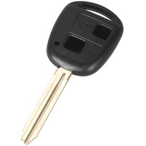 10 pz / lotto Per Toyota Prado / Previa / Corolla / Prius / Camry 2 Remote Transponder Chiave Shell Con Logo S80