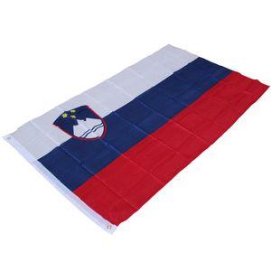 90cm X150cm Vlajka Slovinska - Slovenia National Flag 3 * 5ft 슬로베니아 공화국 국기 Office Parade Home Decoration