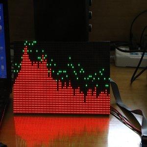 Freeshipping ms3264 v3 espectro de música display 6 modos de exibição diy led espectro de áudio para amplificador de potência amp ktv