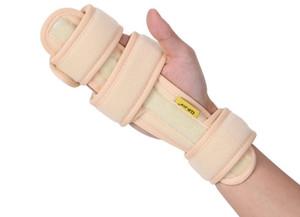 Stecche protettive della mano del supporto fisse del polso della mano regolabile medica della schiuma per dislocazione / tendinite del polso, formato libero