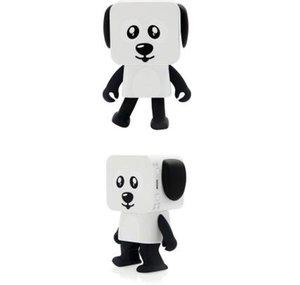 Nuevo robot de baile multifuncional Bluetooth altavoz Tarjeta cuadrado cachorro portátil inalámbrico audio de juguete