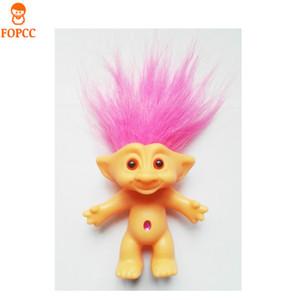 Großhandels- Senden Sie Ihre Kinder Weihnachtsgeschenke Spielzeug Vinyl Hässliche Puppe Troll Puppe 80 Nostalgische Puppe 10cm Hohe Elf Magic Hair