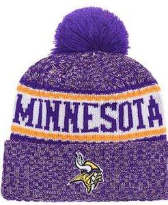 I più venduti Berretto Minnesota Berretti MIN Sideline Freddo Reverse Sport Cuffed Knit Hat con Pom Winer Skull Caps