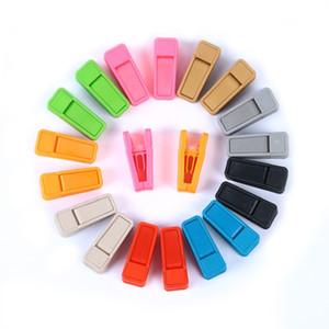 Resuable Kravat Klip Evrensel Islak Ve Kuru Elbise Askıları Kullanımı Kolay ABS Plastik Clothespin Hiçbir Iz